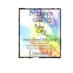 Be Happy  BABYCARE Sweet Almond Shampoo and Bodywash