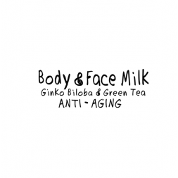 Be Happy Creme Cream Face Milk Ginko Biloba and Green Tea ANTI AGING