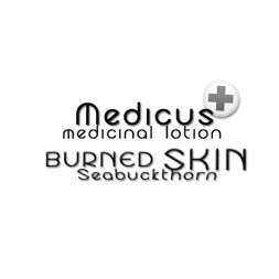 Be Happy Creme Cream MEDICUS medicinal lotion  SEABUCKTHORN for burned skin