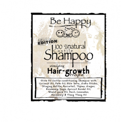 Be Happy Castile Shampoo  Hope stimulating hair growth