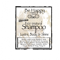 Be Happy Castile Shampoo  LBS Lustre Body & Shine
