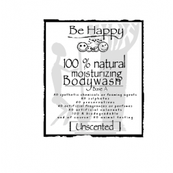Be Happy Castile Soap UNSCENTED  for Bodywash  BODYWASH BASE