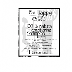 Be Happy Castile Soap UNSCENTED  for Shampoo  SHAMPOO BASE