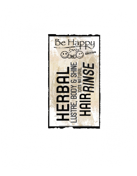 Be Happy Hair Rinse  for Lustre Body & Shine
