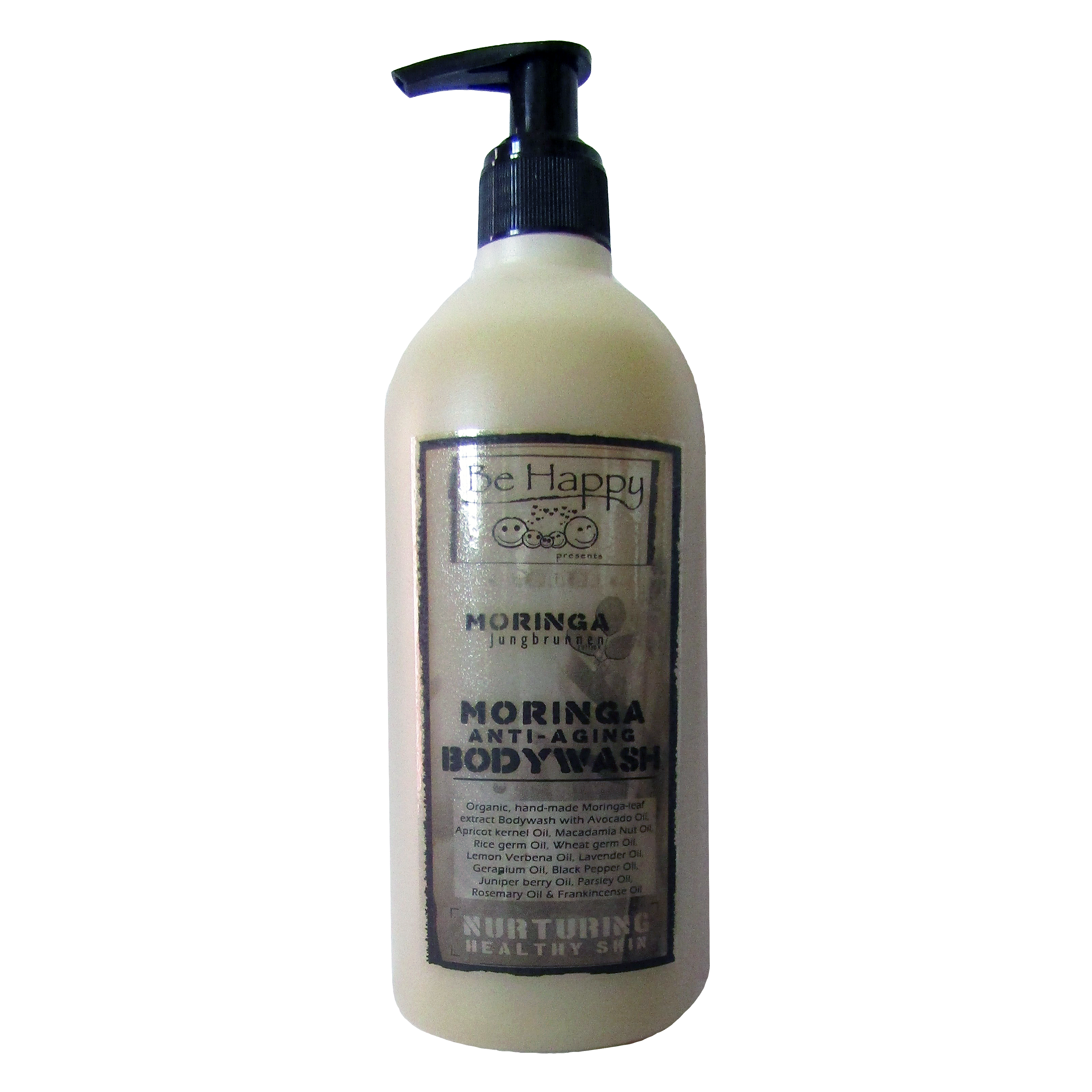 Liquid herbal Moringa Bodywash  - Moringa V - anti-aging -  __ 500ml _