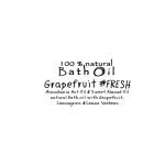 Bath Oil – Grapefruit #FRESH __ 100ml _