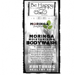 Be Happy moisturizing Moringa Castile Bodywash