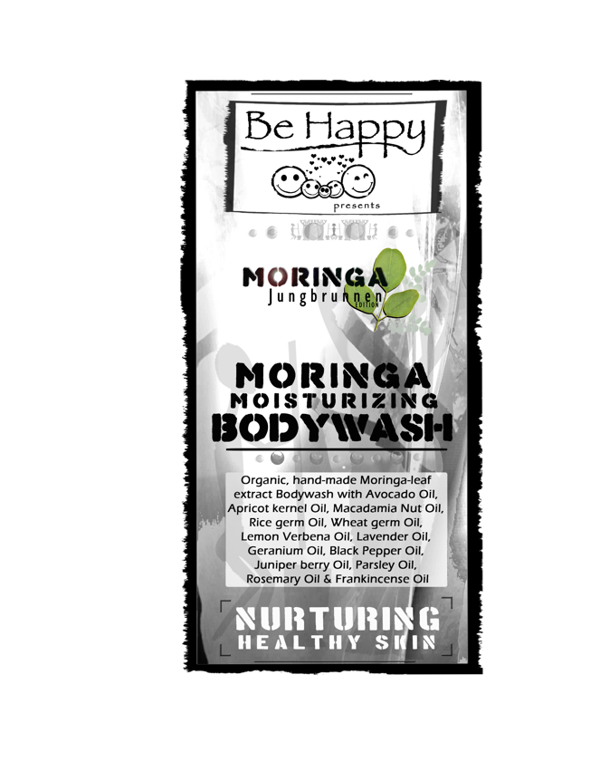 Liquid herbal Moringa Bodywash  - Moringa VX - moisturizing -  __ 500ml _