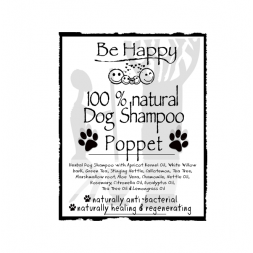 Be Happy PETCARE   Castile Shampoo antibac antiinsect  Poppet