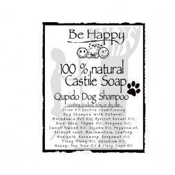 Be Happy PETCARE  Oatmeal Castile Shampoo soothing  Qupido