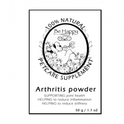 Be Happy PETCARE   Pet Supplement  Arthritis powder