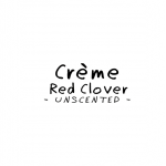 Crème  RED CLOVER  -UNSCENTED-  ANTI-AGING __ 100 g _